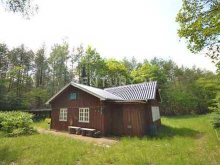 Handwerkerhaus in absolut ruhiger Waldlage