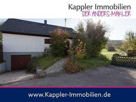 Einfamilienhaus mit Einliegerwohnung in traumhafter Wiesenrandlage mit Ausblick I Kappler Immobilien