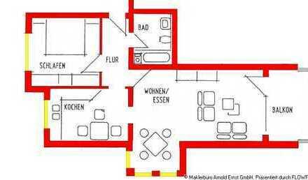 2-Zimmer-Wohnung mit Pkw-Stellplatz im Ostseebad Kühlungsborn