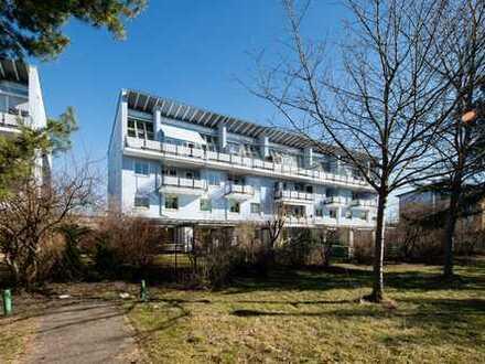 Dachgeschoss-Highlight mit Dachterrasse und Alpenblick - Trudering-Riem