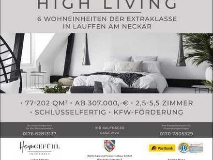 HIGH-Living. Durchdachtes Wohnkonzept der Extraklasse.