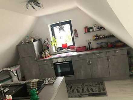 Teilmöblierte, sanierte, klimatisierte 3-Raum-Wohnung mit Einbauküche in Haltern am See