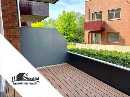 Neubau-Appartement mit Einbauküche und großer Süd-West-Terrasse zum 01.08.2020 bezugsfrei!