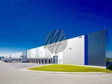 KEINE PROVISION ✓ NEUBAU ✓ Lager-/Logistik (7.500-63.000 m²) & Büro (300-2.100 m²) zu vermieten