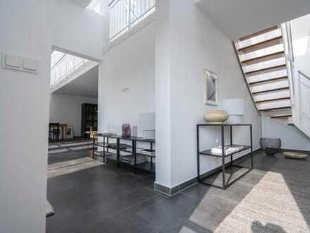 140 qm-Dachgeschoss-Galeriewohnung in Schwabing mit Blick in den Luitpoldpark