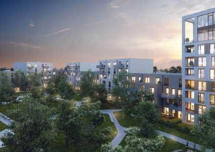 EASY - schöne durchgesteckte 3-Zimmer-Wohnung mit Ost-Terrasse, West-Loggia und 2 Privatgärten