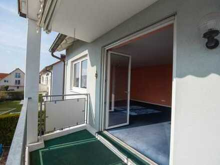 3-Zimmer-Wohnung mit Balkon in Röthlein - provisionsfrei