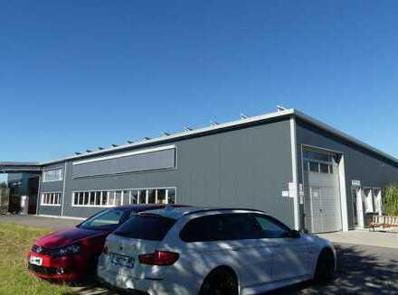 TOP moderne Industriehalle mit Betriebsleiterwohnung zu vermieten