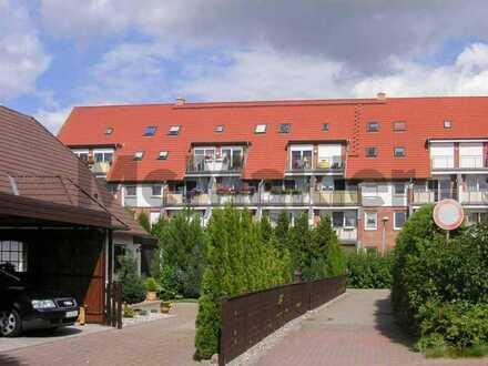 Gehobene 2-Zimmer-Maisonettewohnung mit Südbalkon in naturnaher Lage