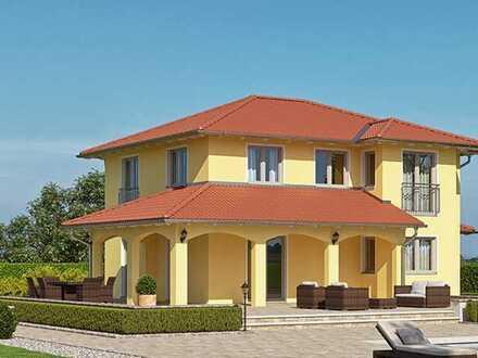 wunderschönes Toskanahaus KFW40+ (in verschiedenen Varianten möglich) auf 5200 m² tollem Grundstück