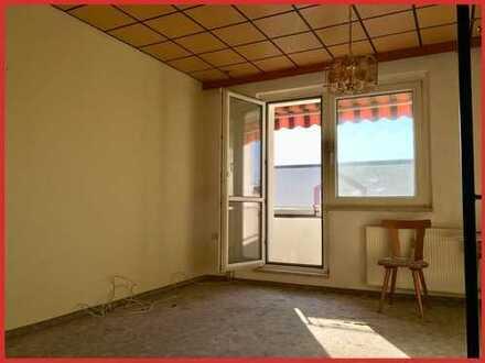 3-Zimmer-Wohnung mit Balkon und Garage