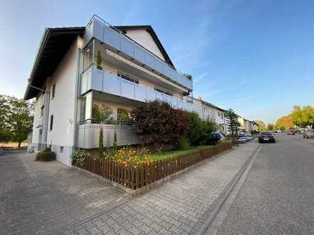 Gemütliche 4-Zimmer Maisonettenwohnung mit 55 qm Traumterrasse in Rheinstetten-Mörsch
