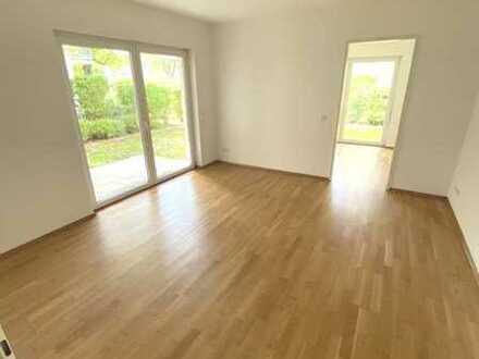 Hübsche, barrierefreie 2-Raum-Wohnung im Erdgeschoss nahe Unterbacher See