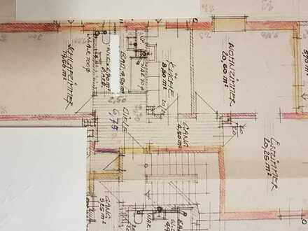 Vollständig renovierte 3-Raum-Wohnung mit Balkon in Würzburg