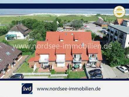 NORDDEICH - Maisonette Wohnung direkt am Strand