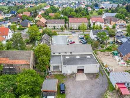 Anlageobjekt | Grundstück in Potsdam Bornim | attraktive Lage | direkt an der B273 | erbauverpachtet