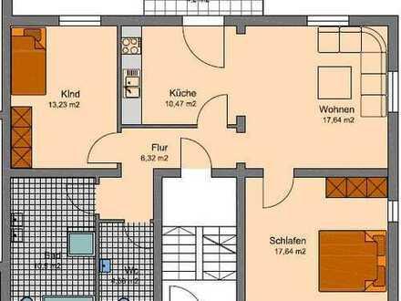 Helle und geräumige 3 Zi. Wohnung / Erstbezug