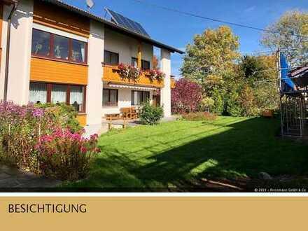 Charmantes, helles 2- Familienhaus mit enormen Platzangebot in ruhiger Lage in Hohenfurch