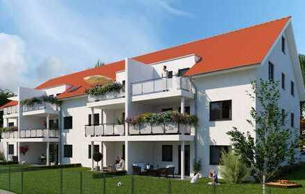 Moderne Familienwohnung mit Garten