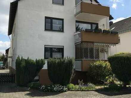 Gemütliche 1-Zimmer-Wohnung mit Balkon und Außenstellplatz in Bodenheim