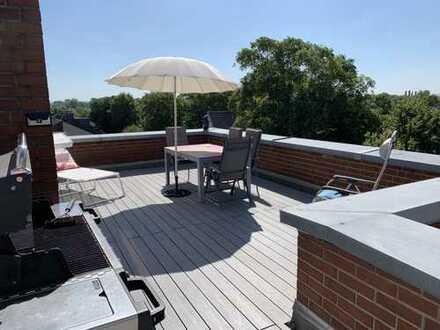 Alt-Niehl: Moderne 4-Zimmer-Penthousemaisonette mit großer Terrasse und viel Flair!