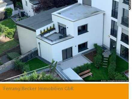 Außergewöhnliche Neubau-3-Zimmer-Wohnung mit Terrasse und Garten am Lousberg!