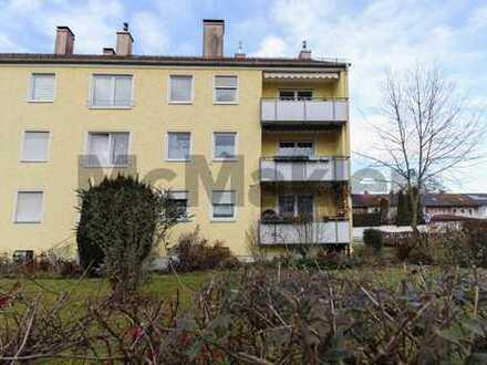 Gepflegte 3-Zimmer-Wohnung mit Balkon in naturnaher, gut angebundener Wohnlage in Augsburg-Hochzoll