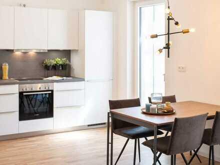 Hochwertige Ausstattung und durchdachter Grundriss: 2-Zimmer-Wohnung mit Einbauküche und Balkon