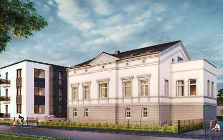 2 hochwertig restaurierte Etagenwohnungen in der Freybergschen Villa