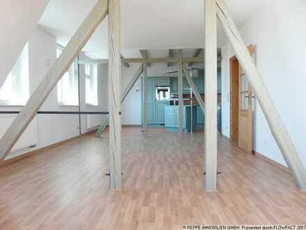 Großzügige Maisonettewohnung mit Sauna und EBK im Bautzner Villenviertel