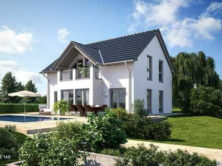 Einfamilienhaus Fertigbauweise - Effizienzhaus 40 (KfW - förderfähig)