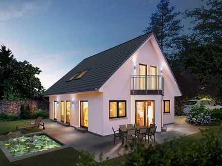 Großes Einfamilienhaus voll unterkellert mit traumhaftem Garten und freiem Blick !