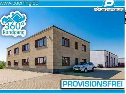 Modernes Bürogebäude + große Werkhalle + 7.900 m² Grundstück in Mayen + PROVISIONSFREI