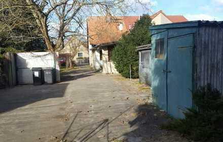 Grosses Grundstück mit DHH in Fürstenwalde Nord