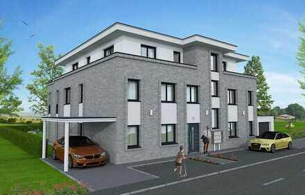 Exclusive Neubau - Wohnung im Buterland - Erstbezug - Erdgeschoss mit Terrasse und Garten