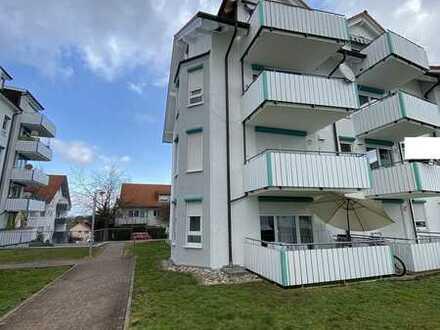Prov.frei vom Eigentümer: Moderne 4-ZKB, Süd-Terrasse + 2. Balkon, mit TG-Stellplatz im Haus