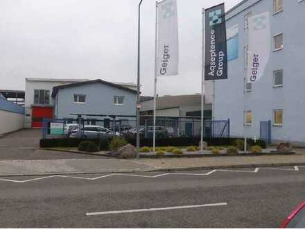 Büro- und Produktionsflächen zur Miete in Karlsruhe-Grünwinkel