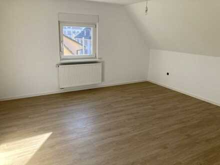 Erstbezug nach Sanierung: ansprechende 3-Zimmer-DG-Wohnung zur Miete in Mosbach