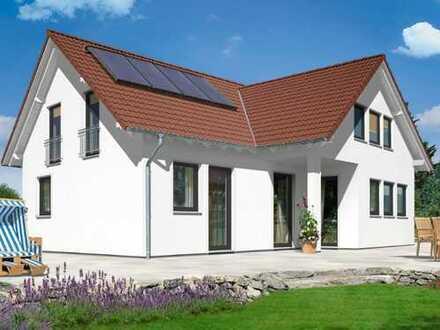 RAMMINGEN - NEUBAU Zwei-Generationen-Haus bzw. ELW auf großem Grundstück