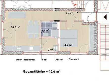 Erstbezug: 2-Zimmer-Wohnung mit Solarstrom & Süd-Balkon in Französisch Buchholz (Pankow), Berlin