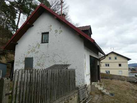 Cham - Freizeitgrundstück mit Abrisshaus