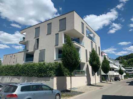 Moderne, helle 3 1/2 Zimmer Wohnung Neubau, zentrumsnahes Wohnen am Riedbrunnenpark.
