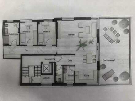 ROHBAU FERTIG! Exklusives großes Penthouse mit toller Terrasse! Top Ausstattung Ihrer Wahl!