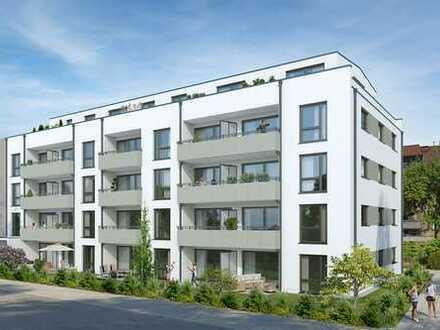 Erstbezug: 3-Zimmer-Wohnung mit Balkon, perfekte Verkehrsanbindung, ruhige Lage