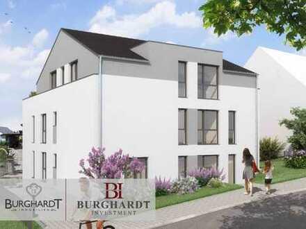Frankfurt - Nieder-Erlenbach: Charmante Maisonette-Wohnung mit Garten im veredelten Rohbau!