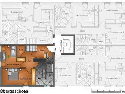 Provisionsfrei - Neue Penthouse Wohnung über zwei Etagen!