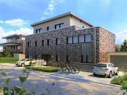 Schöne, barrierearme Neubau-Obergeschosswohnung mit Balkon und Stellplatz zu verkaufen!