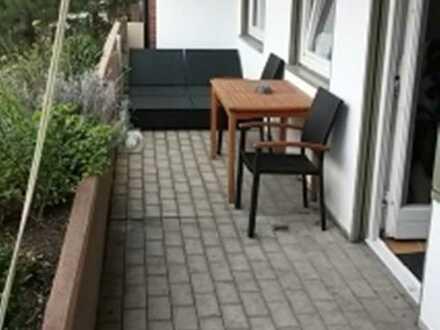 Mühlheim, 3 ZW (70 qm) renov., grosser SW-Balkon (Loggia, ca. 17 qm) Garage a.W.