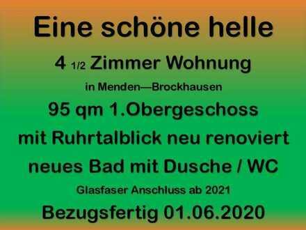 freundliche helle 4,5 Zimmer WHG ca. 95 qm in Menden Brockhausen