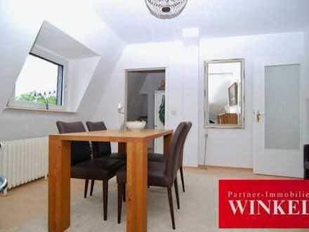 4-Zimmer Dachgeschosswohnung mit Einbauküche u. Duschbad in Südstadt